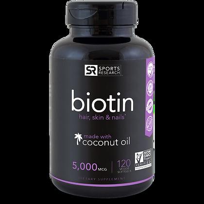 Biotin (5000mcg)