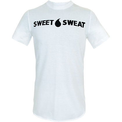 T-shirt blanc Sweet Sweat