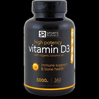 Vitamin D3 (5,000iu)