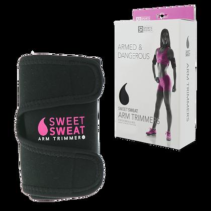 Bandeaux amincissants pour les bras Sweet Sweat – Logo Rose