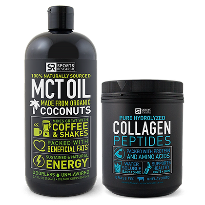 MCT Oil & Collagen Peptides Bundle