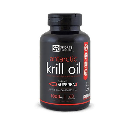 Antarctic Krill Oil (1000mg) 60 gélules.