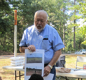 Natchiotches Soil & Water Conservation District presenting at Forestry Awareness