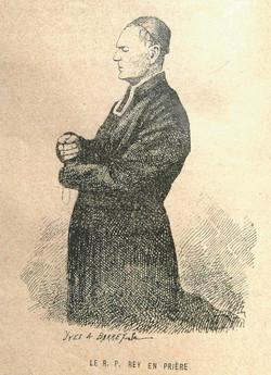 Padre José Rey en la oración
