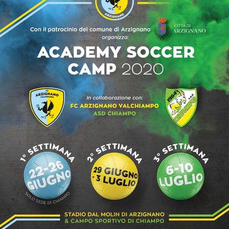 Academy Soccer Camp 2020