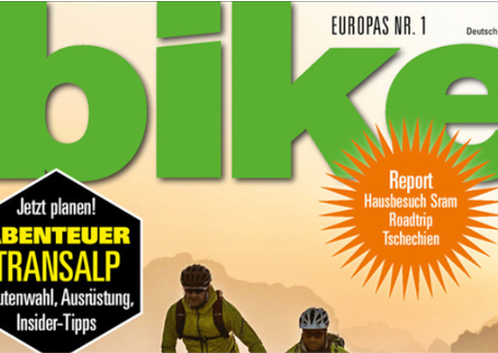 Home Story im BIKE Magazin 21/03