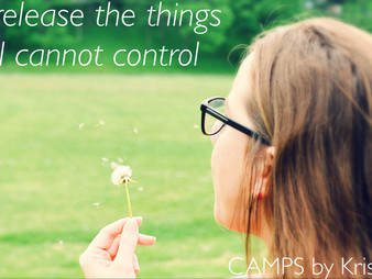 I release the things I cannot control