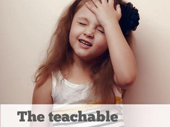 Find the Teachable Moment