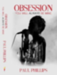 Obsession Book Cover- Paul Phillips