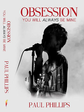 Obsession You Will Always Be Mine Cover and Spine - Paul Phillips