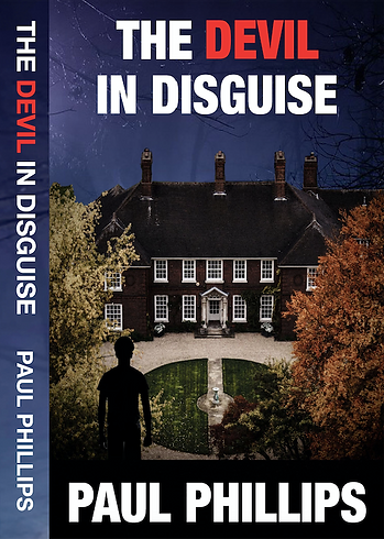 Devil In Disguise Book Cover and Spine - Paul Phillips