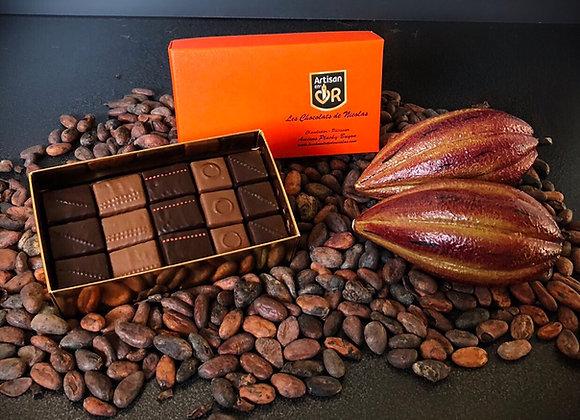 Ballotin de chocolats variés