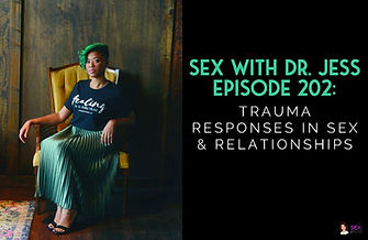 Black sex therapist and educator on podcast