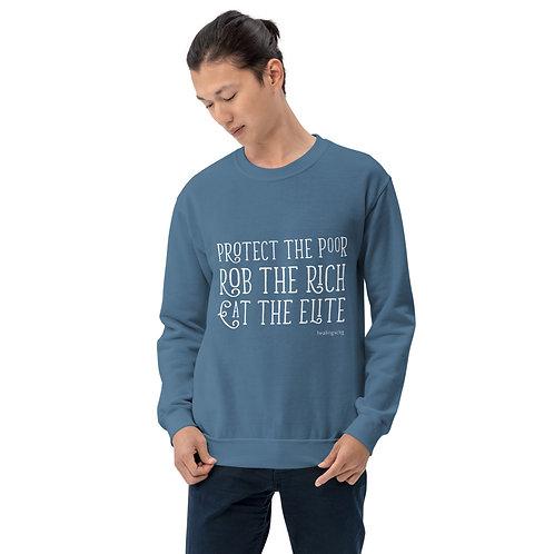 Poor, Rich, Elite Sweatshirt