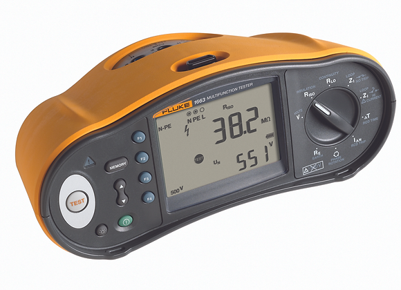 Fluke 1663 Multifunction Tester - Free 114 & DMS Cable/Software