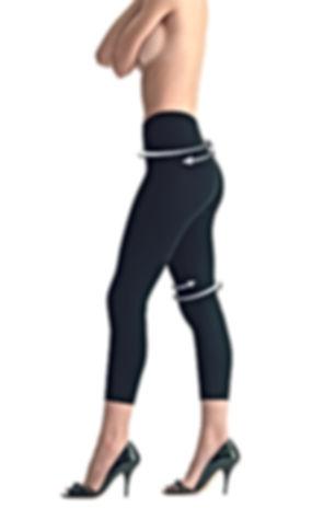 Slimming Legging BioPromise Black