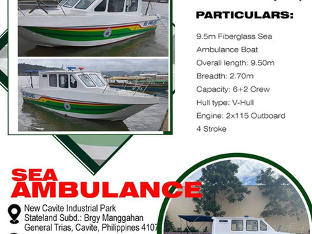 Stoneworks Specialist Int'l Corp. makes quality Sea Ambulances for your safety.