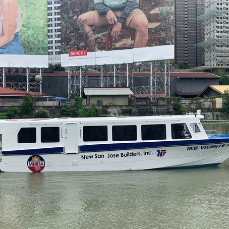 Stoneworks Specialist Intl., Corp. Turns over the M/B Vicente D to the Pasig River Ferry Service