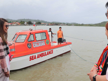 STONEWORKS SPECIALIST INTL., CORP. HELPS THE PEOPLE OF CALAUAG GAIN BETTER ACCESS TO RESCUE SERVICES