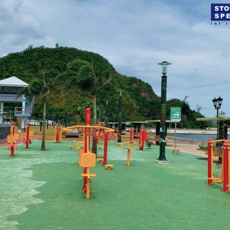 Sawangan Park Opens an Outdoor Fitness Equipment with the help of Stoneworks Specialist Intl., Corp.