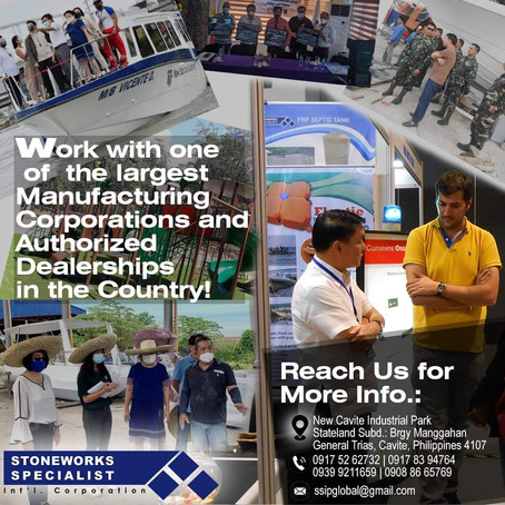 STONEWORKS SPECIALIST INT'L. CORPORATION IS YOUR BEST PARTNER FOR COMPOSITE-MATERIAL MANUFACTURING