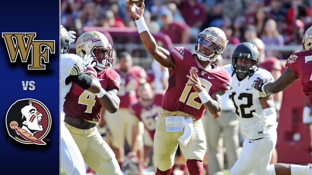 #13 FSU Holds Off Wake Forest