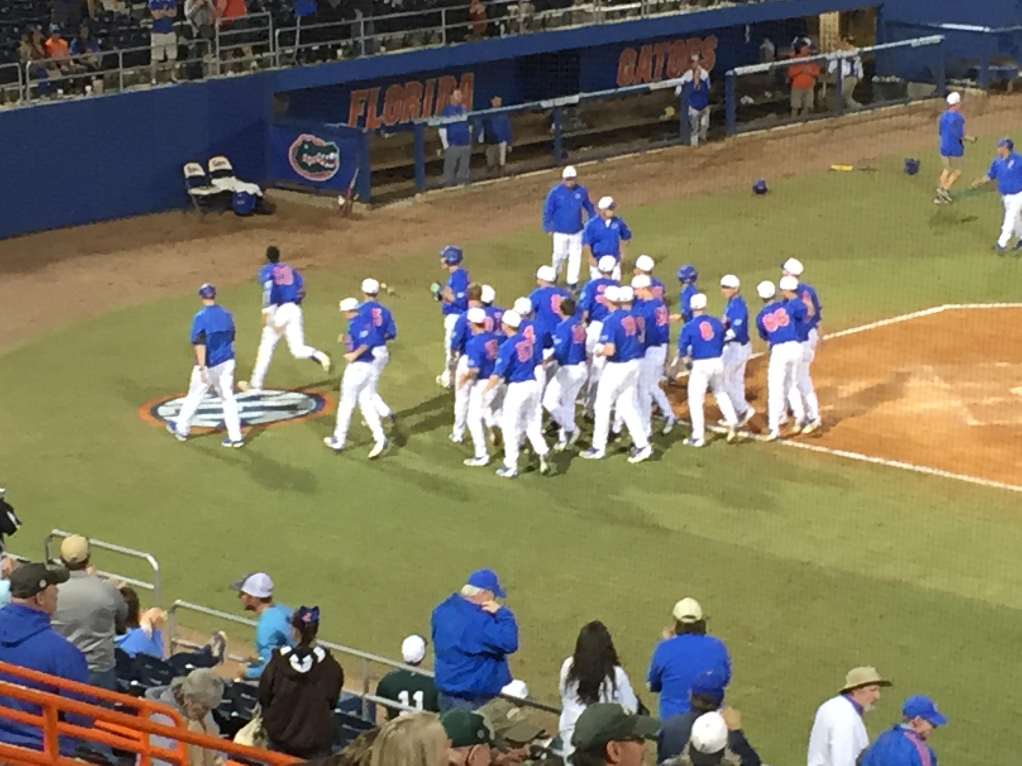 #1 Gators Walk Off to Win Series