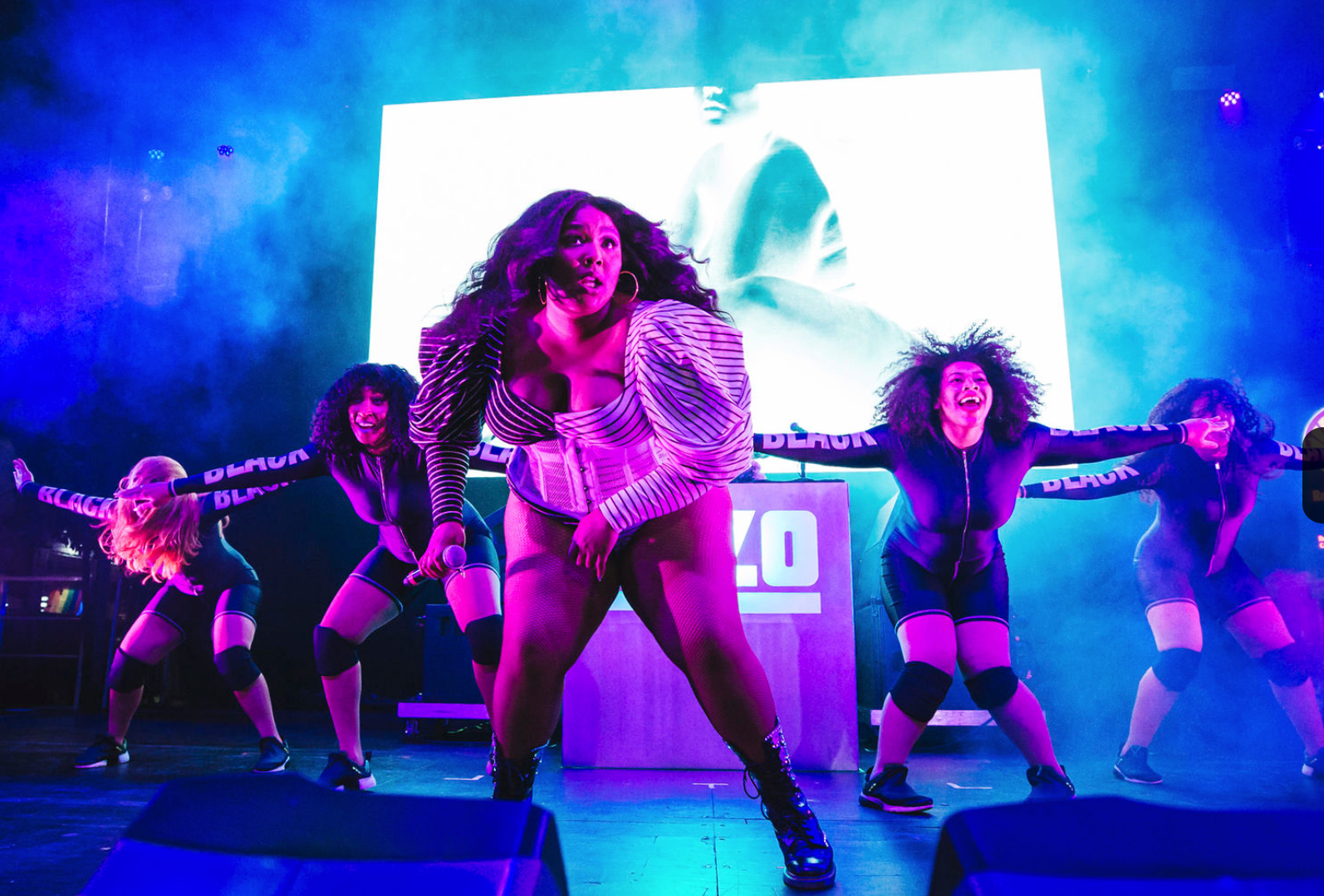 LIZZO JUICE ALBUM LAUNCH PARTY CRAZY GIRLS GRAMMY PARTY SINGLE RELEASE