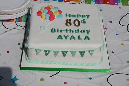Twyford Waterworks - Ayala's birthday ca