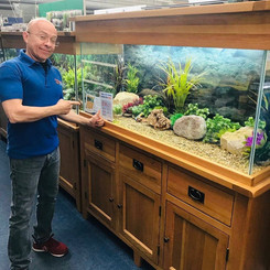 AquaOak Staff Coatbridge Display Tank Aq