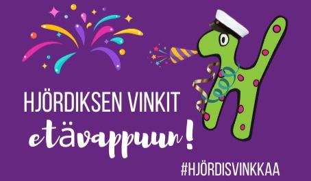 #HjördisVinkkaa: Hjördiksen vinkit etävappuun