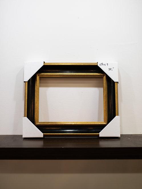 """Black & Gold Frame 12.75"""" x 9"""""""