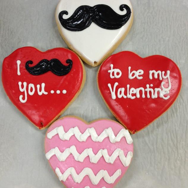 Mustache Valentine Bouquet