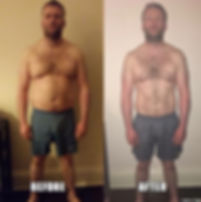 12 week fat loss transformation