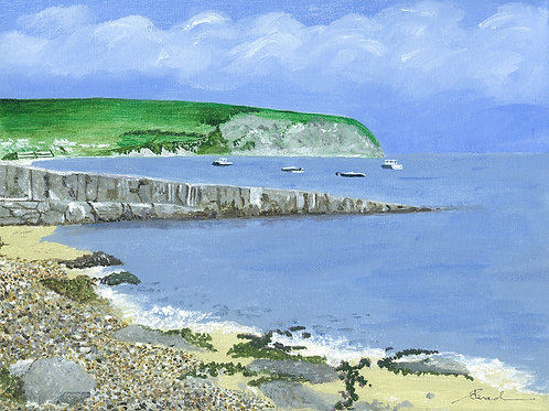 Swanage Bay from Monkey Beach