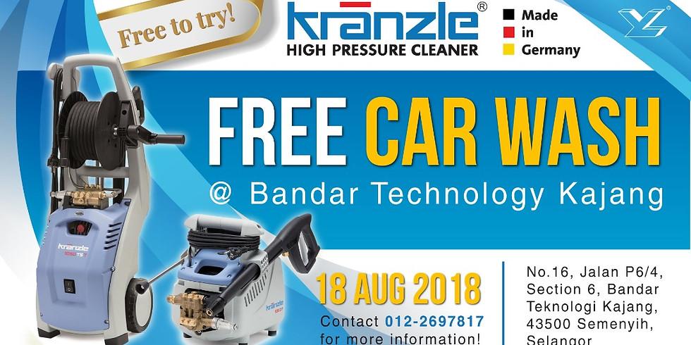 FREE Car wash with Kranzle