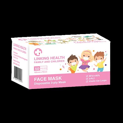 Toddler Cartoon Face Mask