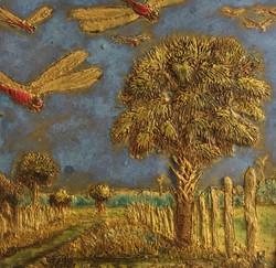 Landscape with Dragonflies