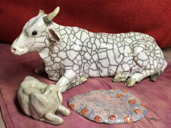Cow, Calf, and Optional Placenta