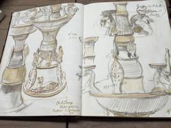 Studies of Han Dynasty Oil Lamp