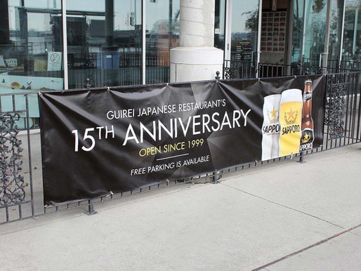 How to make an outdoor banner for your business?