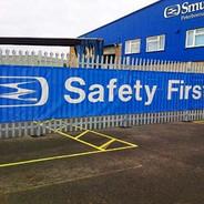 Safety Banner Sign