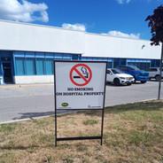 Coroplast Sign