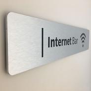Office Indoor Metal Sign