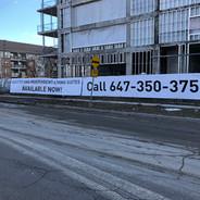 Large Street Banner