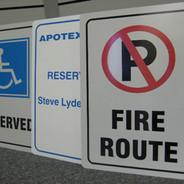 Custom Aluminum Parking Sign