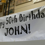 Birthday Banner Sign