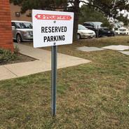 Custom Parking Sign