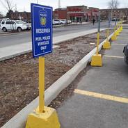 Reserved Parking Aluminum Sign