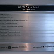Directory Aluminum Sign